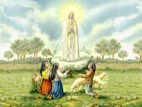 Aparicion de la virgen de fatima e1345049414337 Imágenes de la Virgen de Fátima