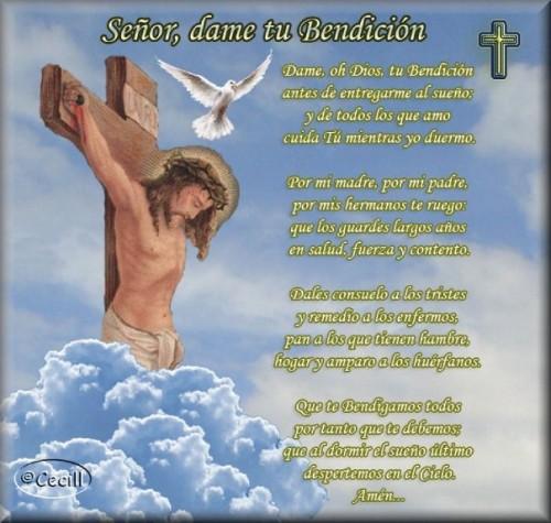 DAME TU BENDICION e1345584355140 Imágenes con oración a Jesús