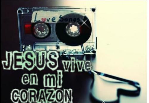 """Jesus en mi corazon e1345741134623 Imágenes """"Jesús vive en mi corazón"""""""