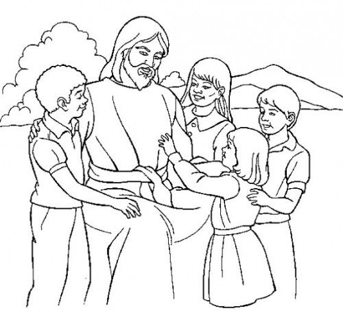 Jesus para pintar