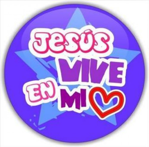 "Jesus vive en mi corazon e1345741192892 Imágenes ""Jesús vive en mi corazón"""