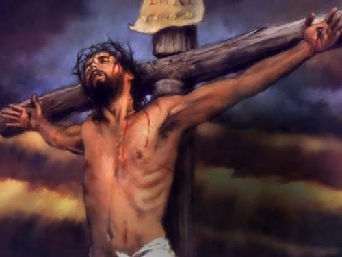 JesusEnLaCruz e1344807215436 Imágenes de la vida de Jesús