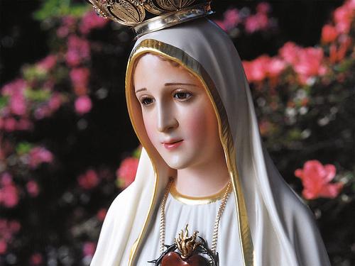 estatua de la virgen de fatima Imágenes de la Virgen de Fátima