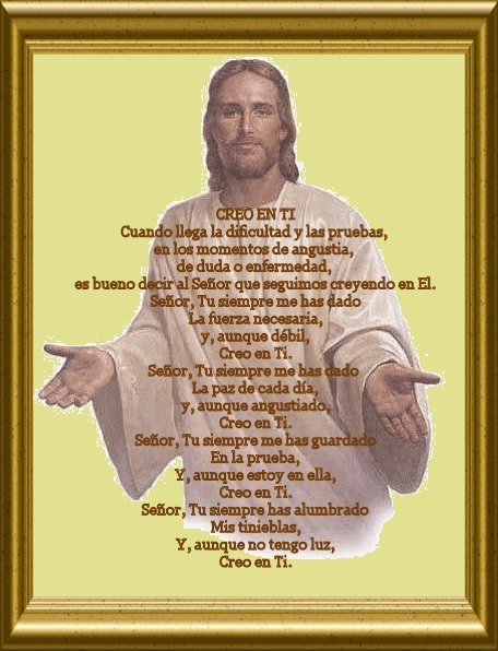 oracion a jesus Imágenes con oración a Jesús