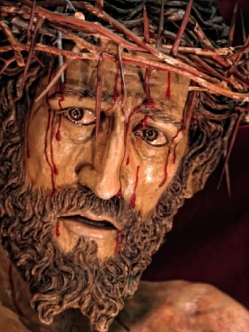 rostro de jesus en madera e1344633071344 Imágenes del rostro de Jesús