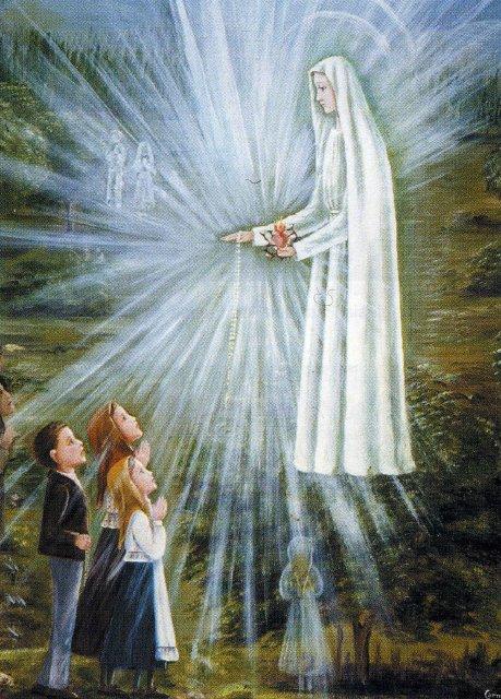 virgen fatima Imágenes de la Virgen de Fátima