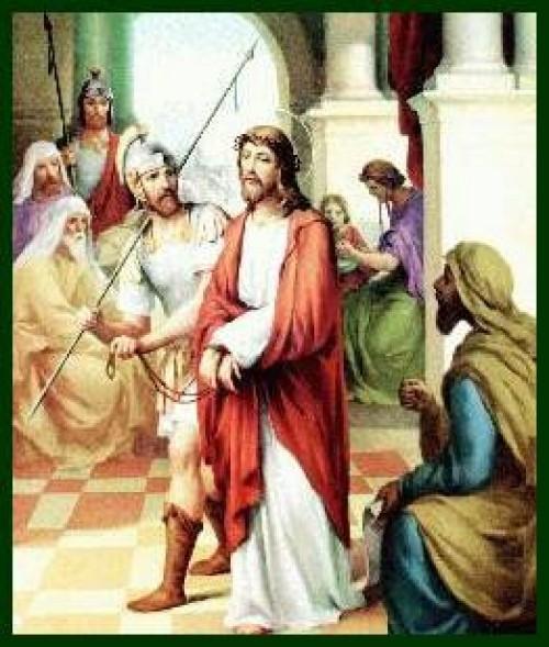 Via Crucis e1347328192640 Imagenes de Jesus en el via crucis