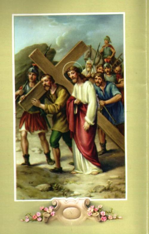 estacion5 VIA CRUCIS e1347327820127 Imagenes de Jesus en el via crucis