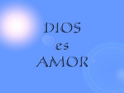 Dios es amor1 e1349731080327 Imágenes Cristianas: Dios es amor