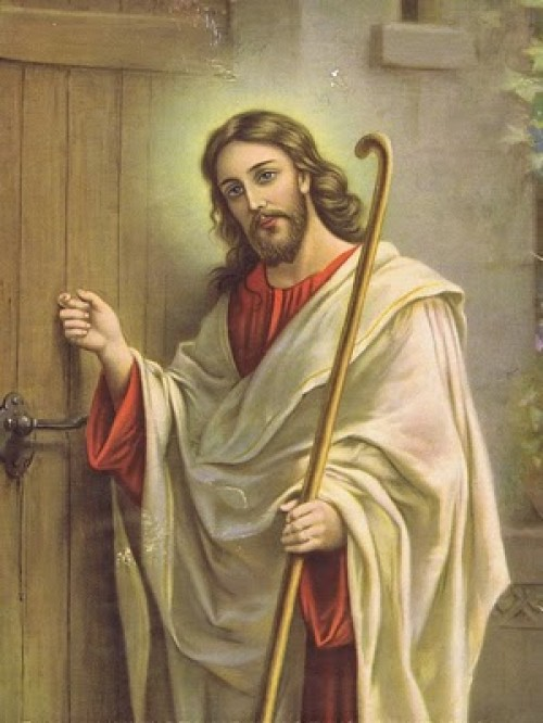Imagen+de+Jesus+en+la+puerta