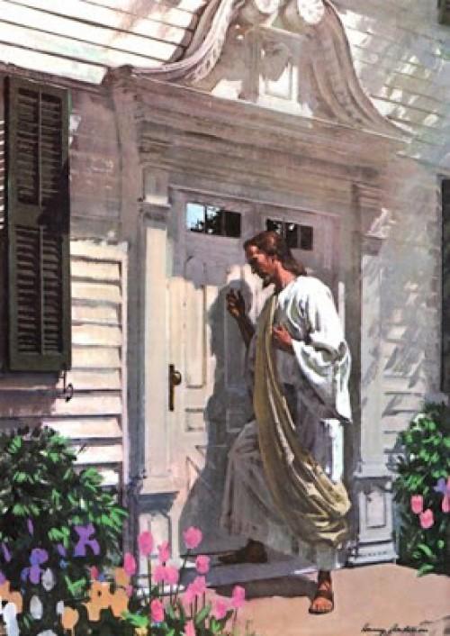 JESÚS GOLPEANDO UNA PUERTA e1350325020196 Imágenes de Jesús llamando a la puerta