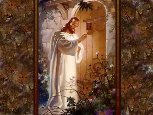 Jesús+toca++a+la+puerta e1350324937838 Imágenes de Jesús llamando a la puerta