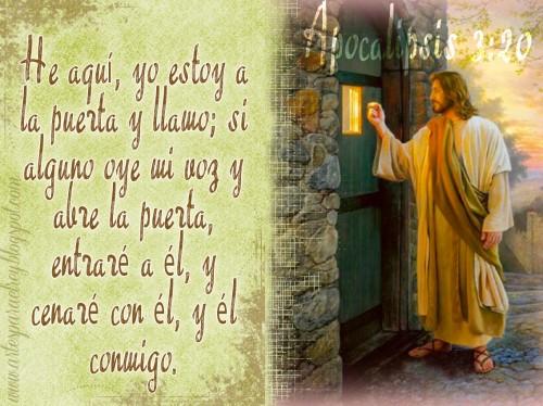 La puerta e1350325102705 Imágenes de Jesús llamando a la puerta
