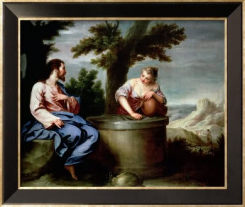 Samaritana y JEsus
