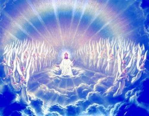dios en el trono e1349129087750 Música Cristiana: Levanto mis manos
