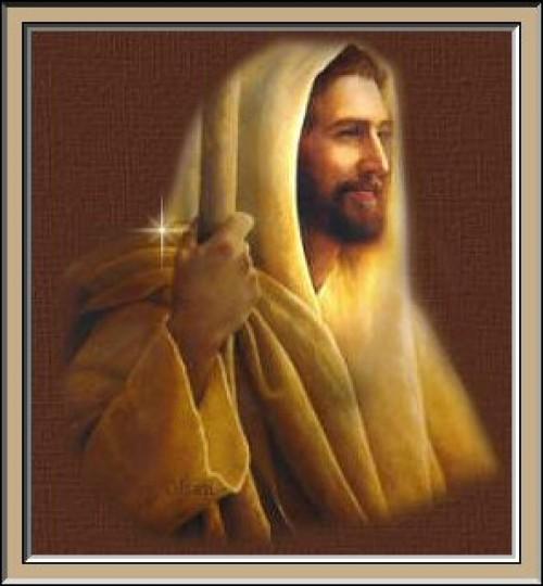 grJESUS SMILING e1351102341707 Imágenes de Jesús sonriendo