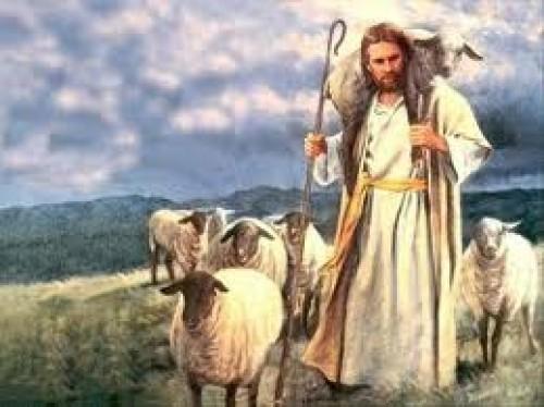 jesus y el rebano
