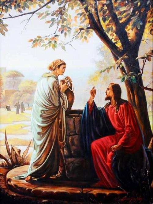 jesus y la mujer samaritana e1350694809503 Imágenes de Jesús y la mujer samaritana