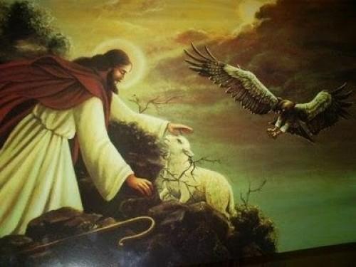 jesus y la oveja2 e1350406584382 Imágenes de Jesús y la Oveja Perdida