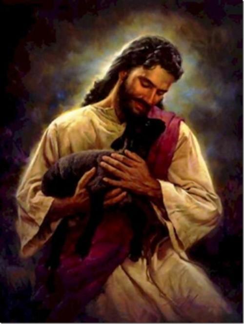 jesus y la obeja perdida e1350406440463 Imágenes de Jesús y la Oveja Perdida