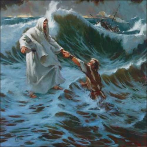 Jesus calma tempestad1 Jesús calmando la tempestad