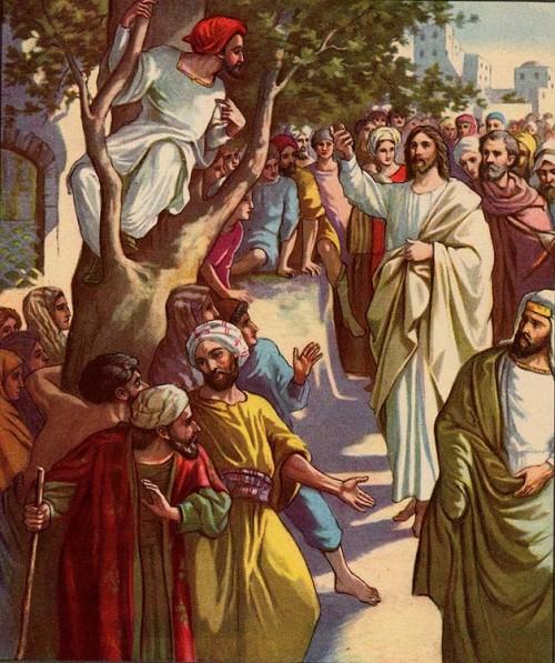 Jesus con Zaqueo