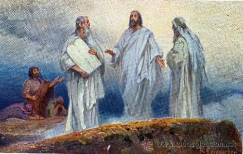 Jesus tranfiguracion
