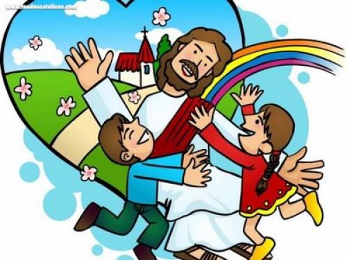 Jesus y los niños e1352850281167 Imágenes infantiles de Jesús