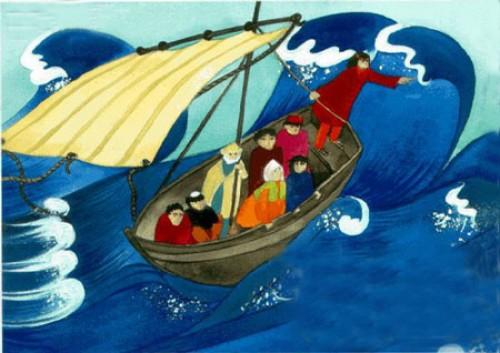 Jesus2 e1353108080420 Jesús calmando la tempestad