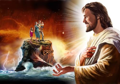 jesus y la familia