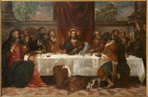 Tiziano  La Ultima Cena e1352583037883 Imágenes de la última cena