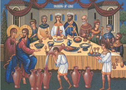 bodas cana e1352769786416 Imágenes de Jesús en la boda de Caná