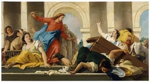 cristo expulsando a los mercaderes e1352928140217 Imágenes de Jesús expulsando a los mercaderes del tempo
