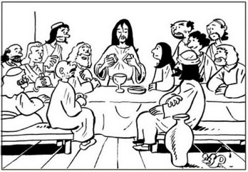imagenes de jesus para colorear e1353537370927 Imágenes de Jesus para Colorear