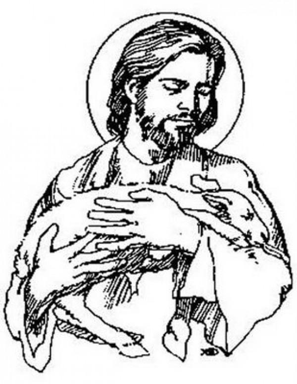 imagenes de jesus para colorear2 e1353537415588 Imágenes de Jesus para Colorear