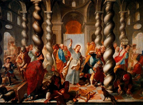 imagenes de jesus1 e1352928207291 Imágenes de Jesús expulsando a los mercaderes del tempo