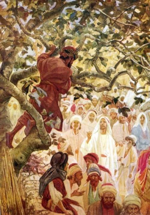 jesus llama a zaqueo e1352340062295 Imágenes de Jesús y Zaqueo