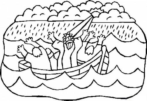 jesus calms storm e1353107979618 Jesús calmando la tempestad