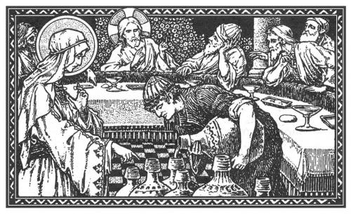 segundo domingo despuc3a9s de epifanc3ada e1352769861519 Imágenes de Jesús en la boda de Caná