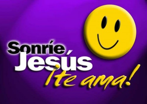 sonriejesusteama e1352412821702 Jesús te ama