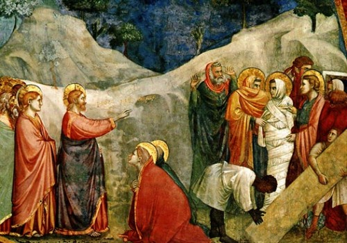 "Resurrección de Lázaro"" por Giotto di Bondone e1354820995339 Jesús y la resurrección de lázaro"