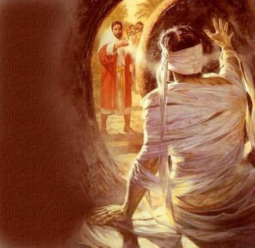 jesus y la resurreccion de lazaro