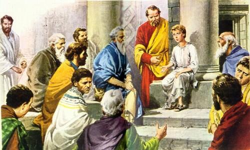 jperdido4 e1355171896669 Jesús perdido y hallado en el templo