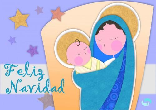 niño jesus el embarazo e1355785736421 Imágenes navideñas del niño Jesús