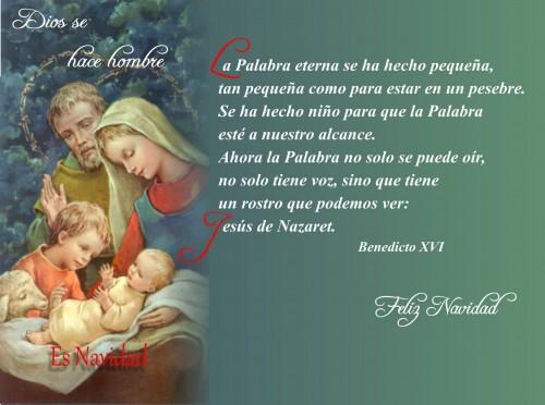 Postales cristianas de navidad imagenes de jesus fotos - Tarjetas navidenas cristianas ...