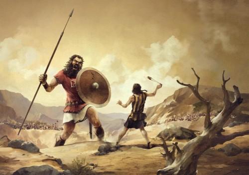 Imágenes de David contra Goliat