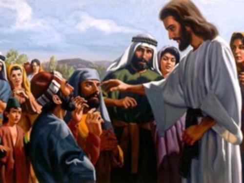 JESUS SANA CIEGO Jesús curando al ciego