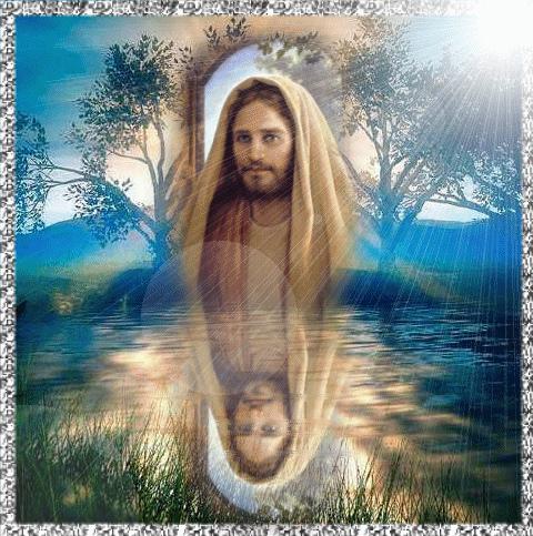 Jesús en paisajes Imágenes de Jesús en paisajes