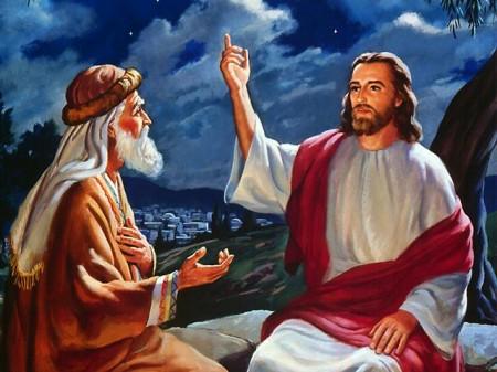 Jesús y Nicodemo