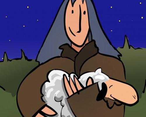 La oveja perdida Parabola e1359327785775 La parábola de la oveja perdida